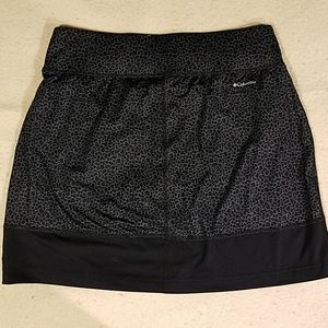 Columbia Animal Print Skort Sz M
